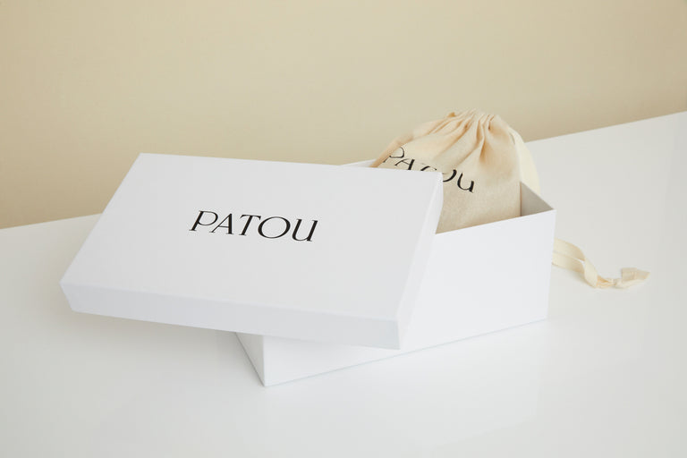 Patou - Green Packed footwear!