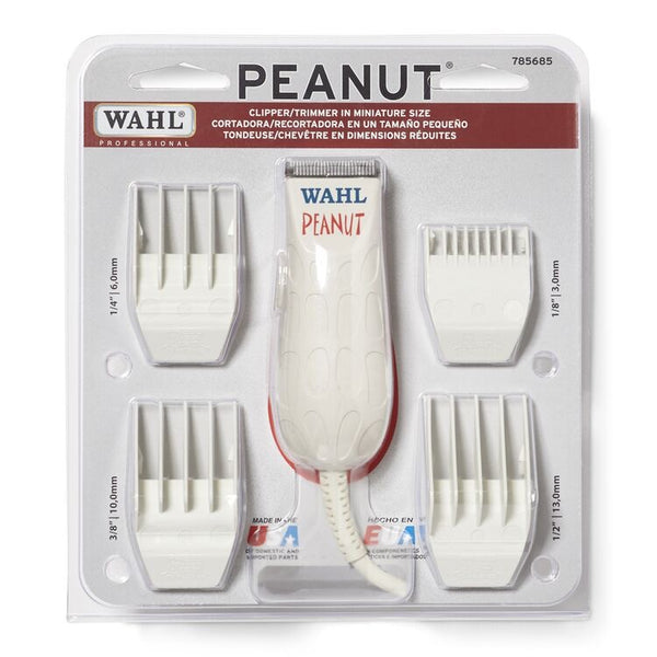Wahl Professional White Peanut Clipper / Trimmer