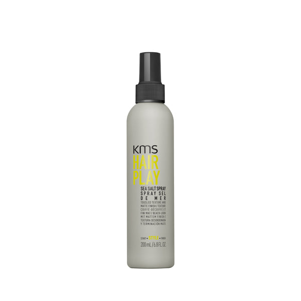 Kms Hair Play Sea Salt Spray  - Tousled Texture And Matte Finish  200 ml