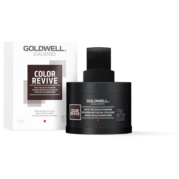 Goldwell Dualsenses Color Revive Root Touch Up Powder Dark Brown To Black