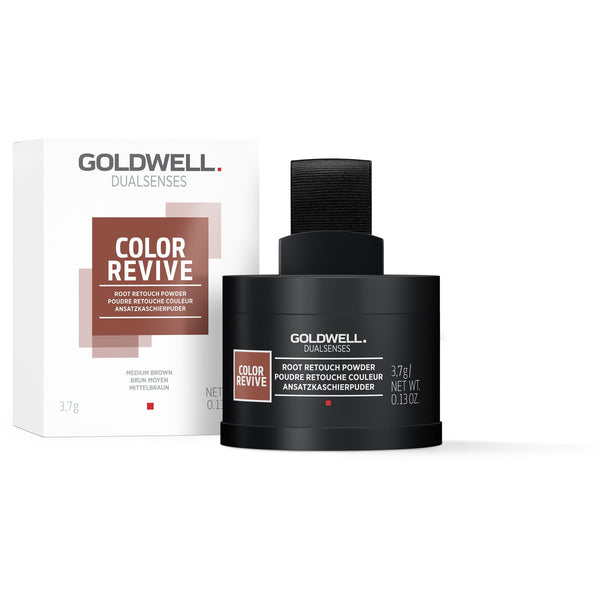 Goldwell Dualsenses Color Revive Root Touch Up Powder Medium Brown