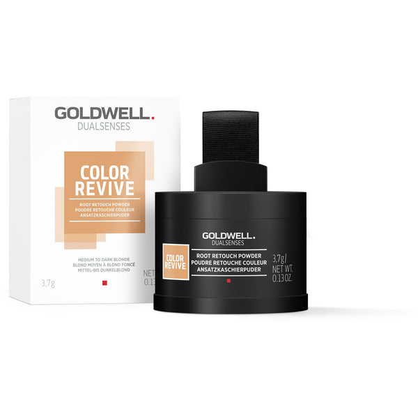 Goldwell Dualsenses Color Revive Root Touch Up Powder Medium To Dark Blonde
