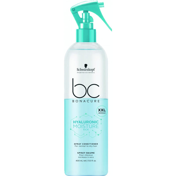 Schwarzkopf BC Bonacure Moisture Kick Spray Conditioner For Normal To Dry Hair 400ml
