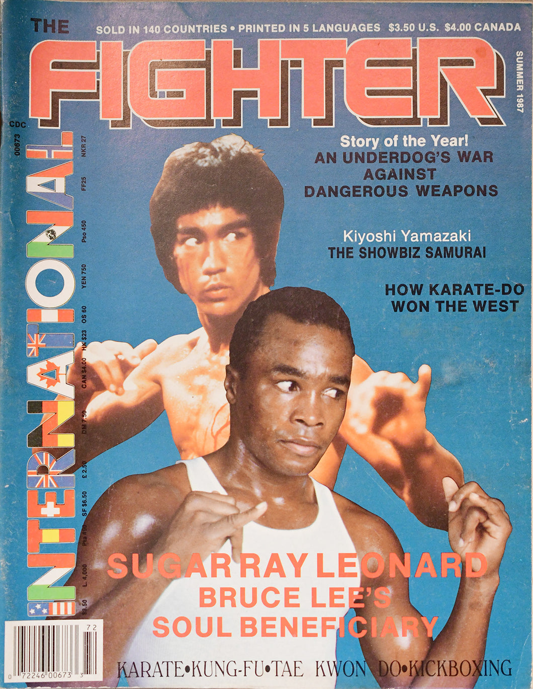 Bruce Lee vs. Sugar Ray Leonard