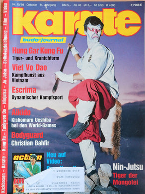 karate budo journal 1989