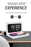 New Creative Wireless Phone Charging station with Digital Alarm Clock