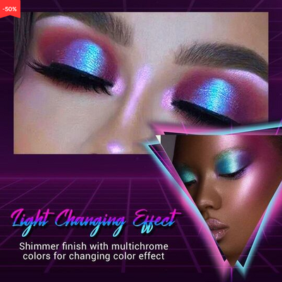 Light Colour Changing Glitter Eye Shadow