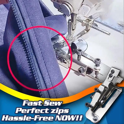 Stitch Line Positioning Zipper Foot
