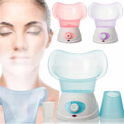 Home Spa Beauty Skin Care Hydrating Moisturizing Facial Steamer Blue