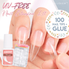 UV-free Nail Extension Kit (100 tips)