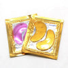 24K Gold Crystal Collagen Eye Mask Patch Pad: 20 Packs