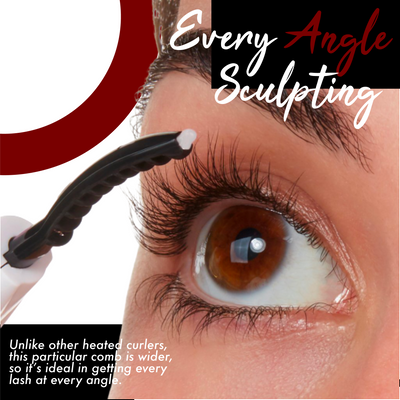 360° Heated Eyelash Curler