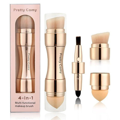 Multi-Functional Makeup Brushes 4 in 1