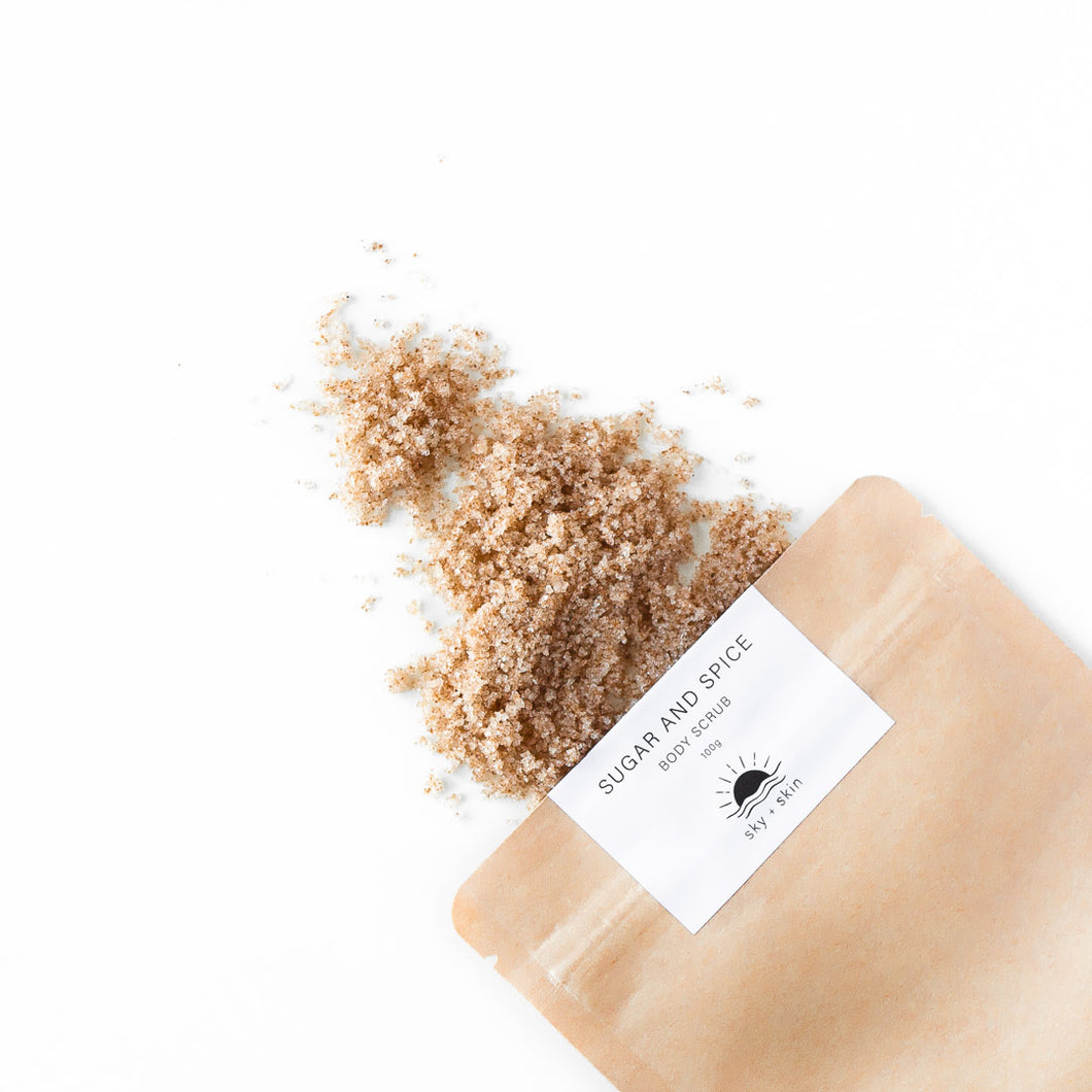 Sugar and Spice Body Scrub 100g