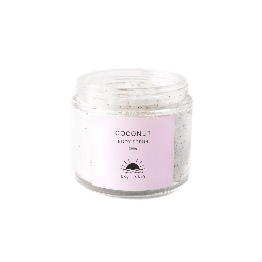 Coconut Body Scrub 200g