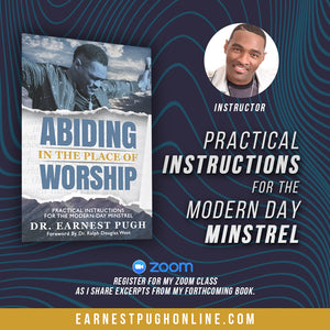 "ZOOM Seminar - ""Practical Instructions for the Modern Day Minstrel"""