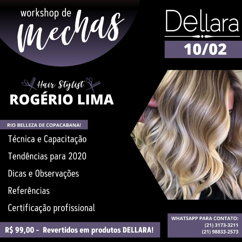 Workshop de Mechas - Hair Stylish Rogério Lima
