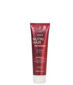 Leave in Nutri Hair 150ml - Dellara Cosméticos