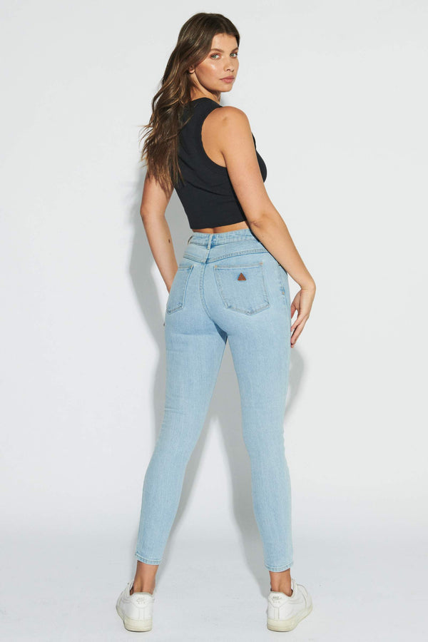 Abrand A High Skinny Ankle Basher Walk Away Jeans