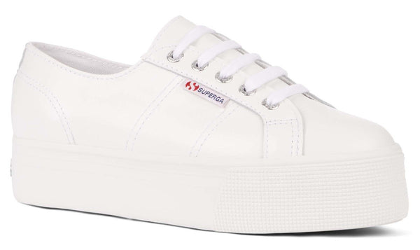 Superga 2790 Leather Platform Shoes