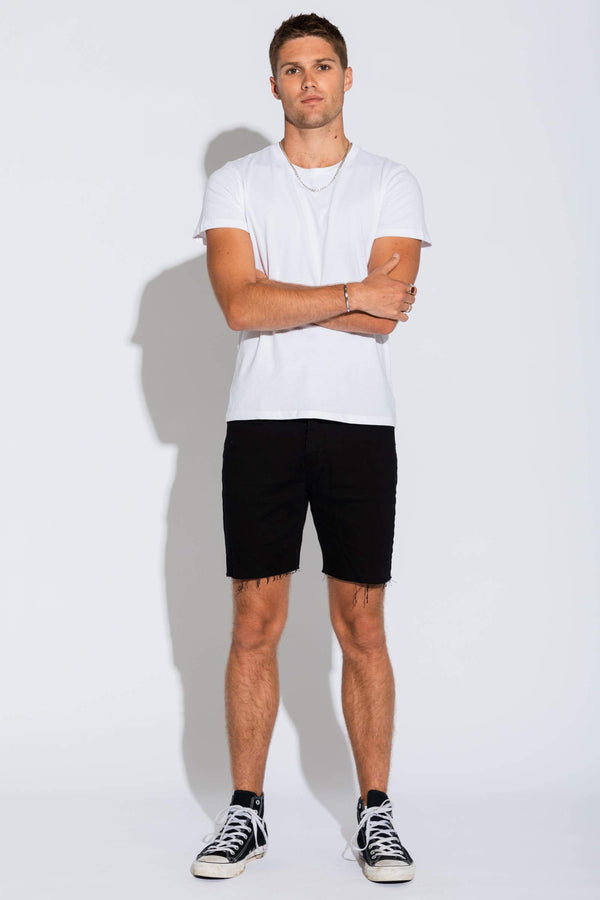 Abrand A Dropped Skinny Blacksky Shorts