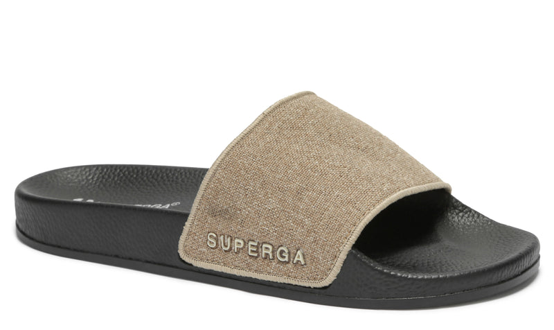 Superga 1908 Linen Slides