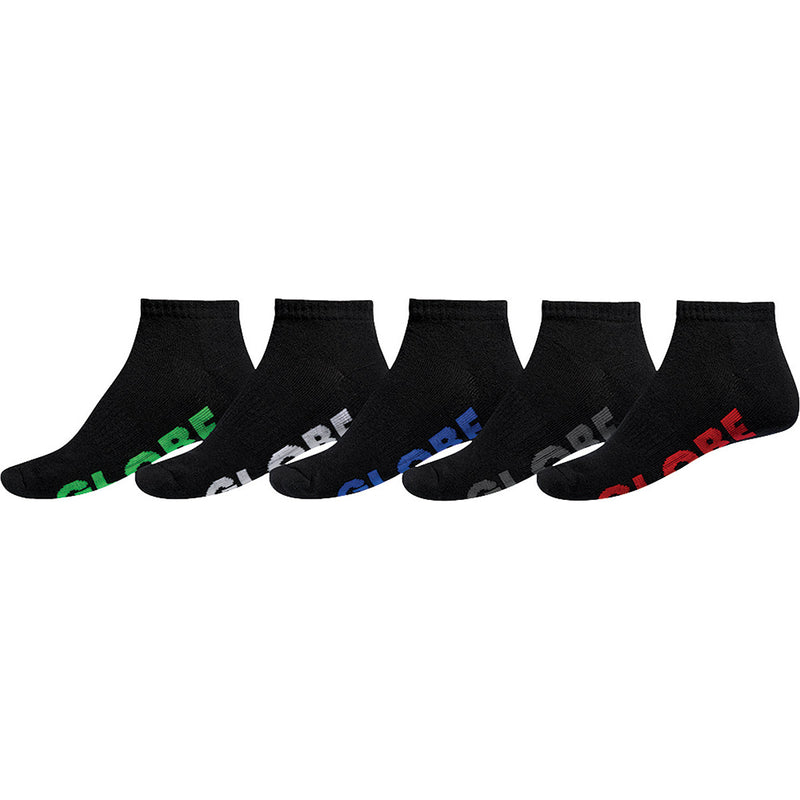 Globe Large Stealth Ankle 5 Pack Socks