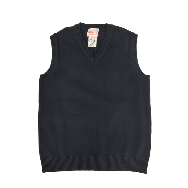 Cotton Vest Black 102V