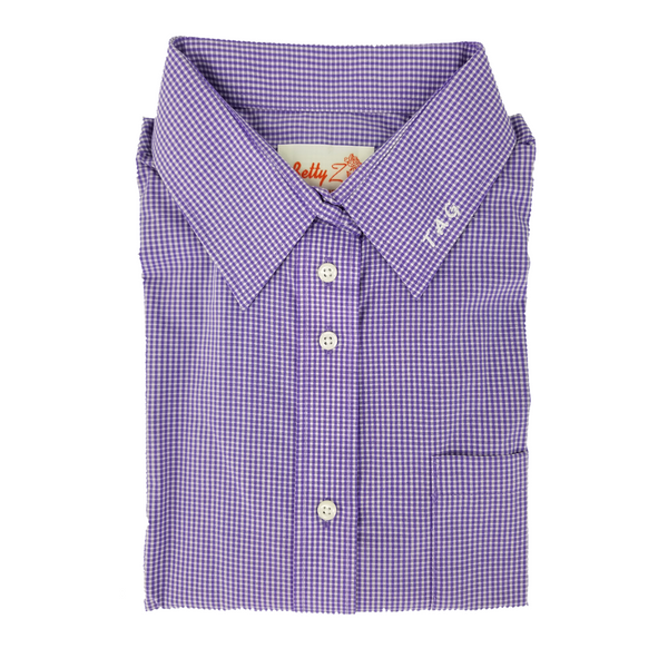 Amethyst Shirt With TAG Embroidery - 6252