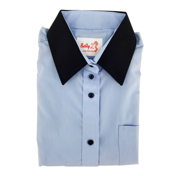 Two Tone Shirt For Girls - 6244