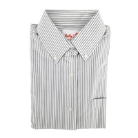 Grey Stripe Shirt For Girls - 6242