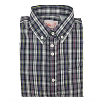 Satmar Plaid Shirt For Girls - 6227