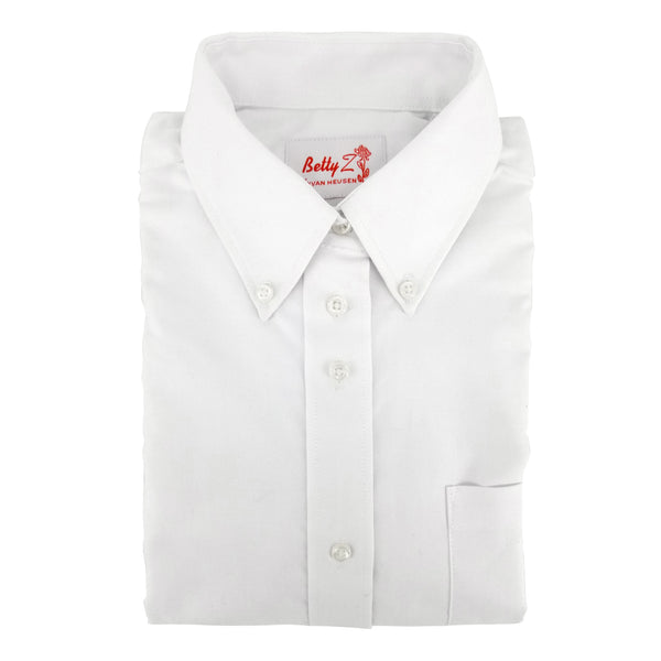 white oxford girls blouse