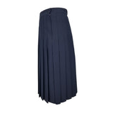 Navy wool Juniors Style 430 Longer Lengths