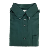 betty z - green blouse - long sleeves - girls school uniform