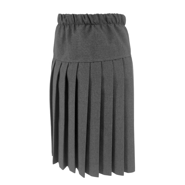 Yoke Skirt Grey Poly
