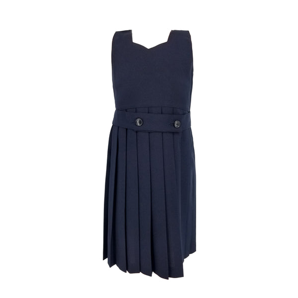 Navy Poly Belted Jumper