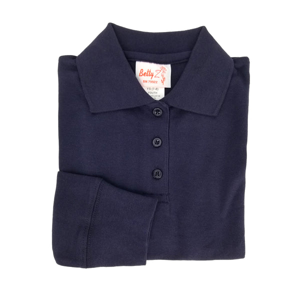 Dark Navy Polo Shirt - P2