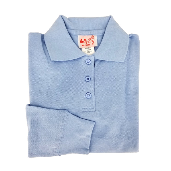 Light Blue Polo Shirt - P3