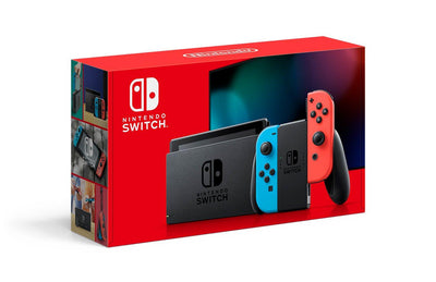 Nintendo Switch with Neon Joy Cons Starter Bundle - Ships by April 30