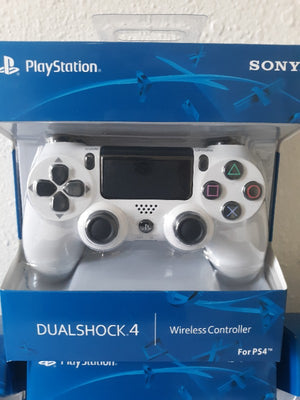 PS4 Sony DUALSHOCK 4 Glacier White Wireless Controller FREE - SHIPPING { WILL ARRIVE IN 3 DAY'S DELIVERY }