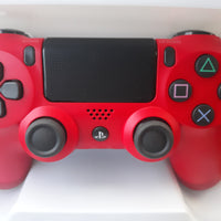 PS4 Sony 4 Magma Red Wireless Controller {3} DAY'S DELIVERY