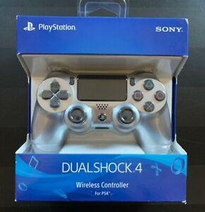 Sony Playstation 4 DualShock 4 Controller, Silver 3 Day Shipping