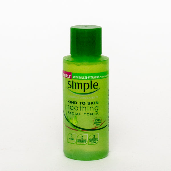 Simple Soothing Facial Toner 50ml