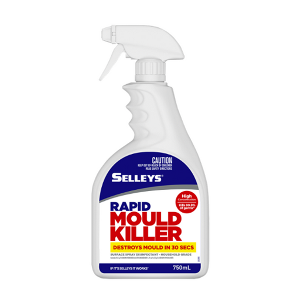 Selleys Rapid Mould Killer Surface Spray Disinfectant 750ml
