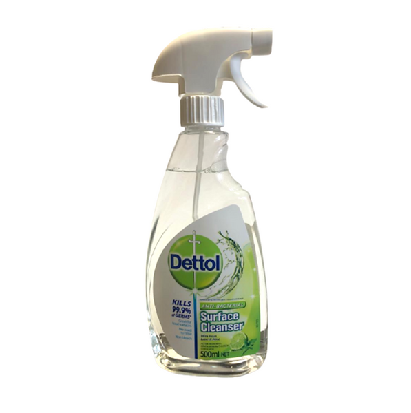 Dettol Antibacterial Surface Cleanser With Fresh Lime & Mint 500ml