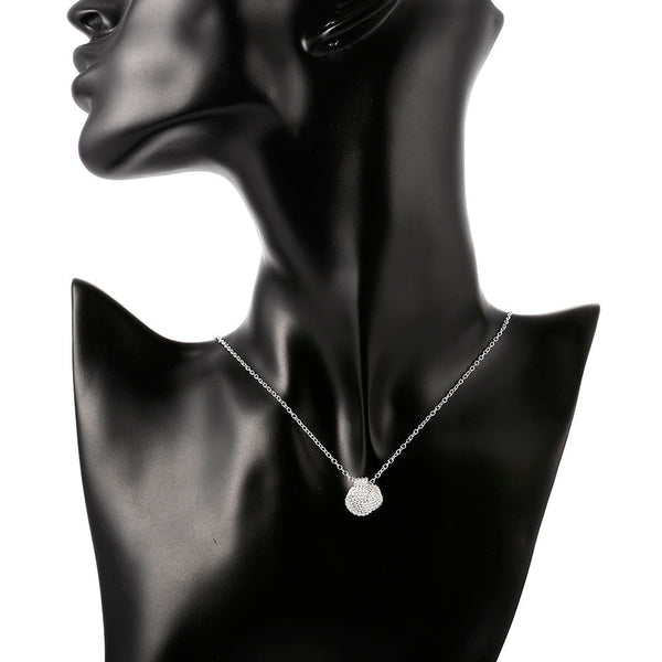 Silver Plated Long Necklace - Vitaezen