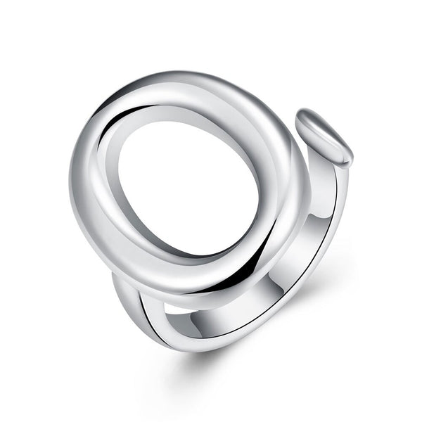 Adjustable Silver Plated Ring - Vitaezen