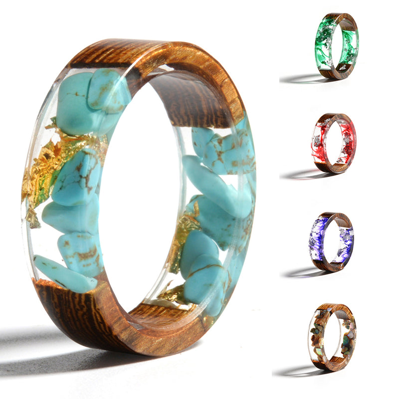 Handmade Resin Ring - Vitaezen