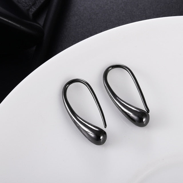 Silver Plated Drop Earrings - Vitaezen